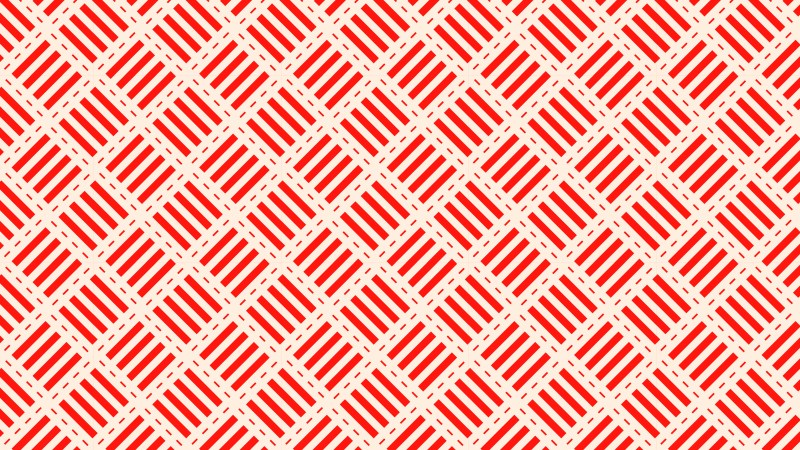 Red Stripes Pattern Background