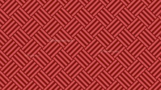 Red Striped Geometric Pattern