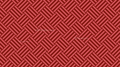 Red Striped Geometric Pattern