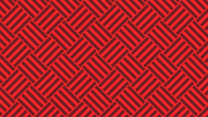 Red Geometric Stripes Pattern