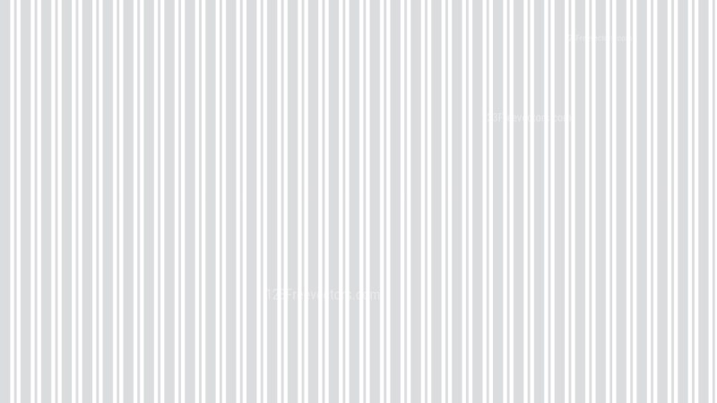 White Seamless Vertical Stripes Pattern Background Vector Graphic