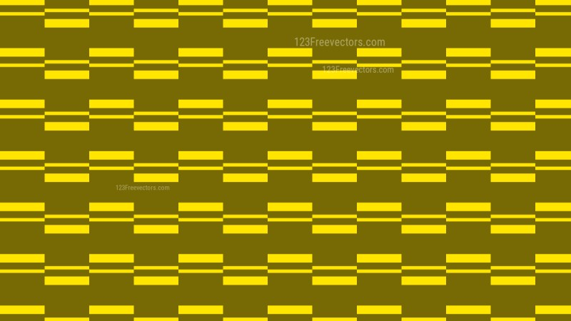 Yellow Stripes Background Pattern