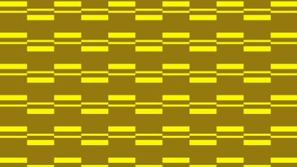 Yellow Seamless Stripes Pattern