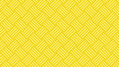 Yellow Stripes Pattern Background Vector Illustration