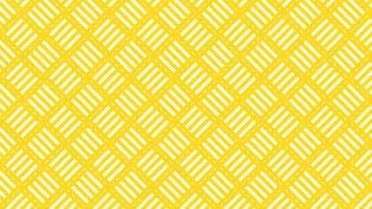 Yellow Striped Geometric Pattern
