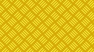 Yellow Geometric Stripes Pattern