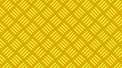 Yellow Geometric Stripes Pattern