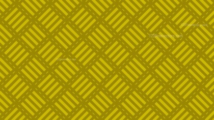 Yellow Seamless Striped Geometric Pattern