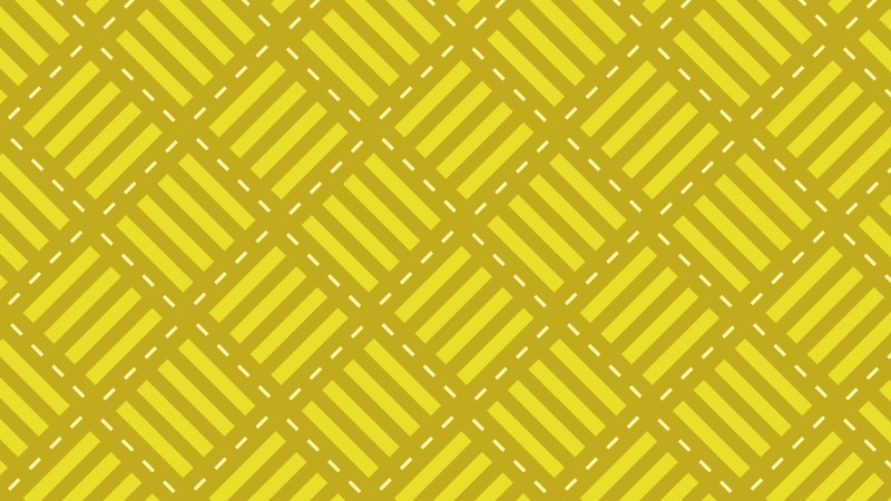 Yellow Striped Geometric Pattern Illustrator