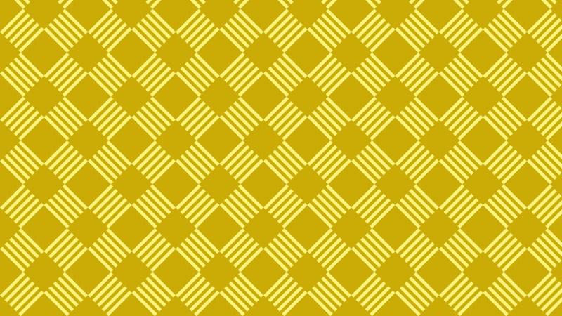 Yellow Seamless Geometric Stripes Pattern Vector Art