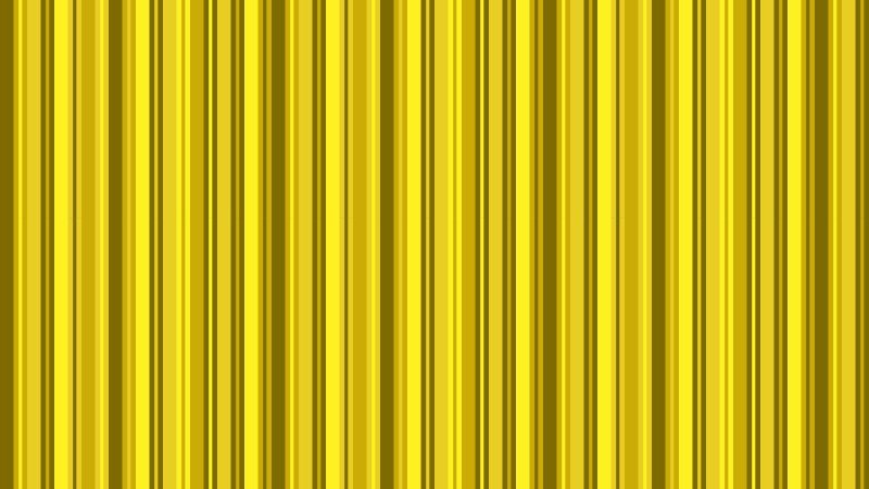 Yellow Seamless Vertical Stripes Background Pattern
