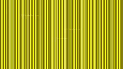 Yellow Vertical Stripes Pattern