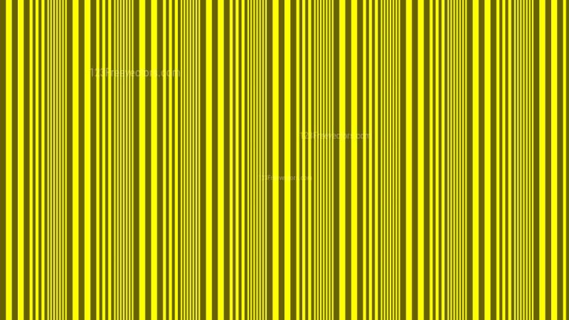 Yellow Vertical Stripes Pattern