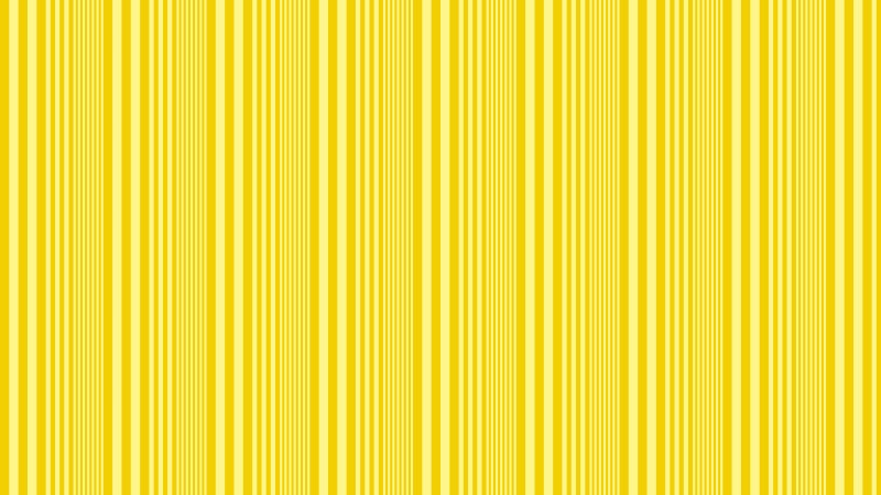 Yellow Vertical Stripes Background Pattern