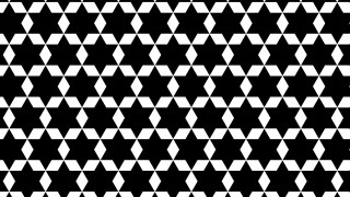 Black and White Stars Pattern Background