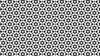 Black and White Star Background Pattern Design