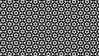 Black and White Seamless Star Pattern Image