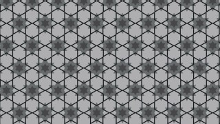 Black and Grey Seamless Stars Pattern Vector Art