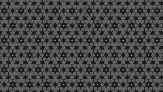 Black Seamless Star Background Pattern Vector Art