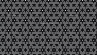 Black and Grey Stars Pattern Graphic