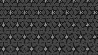 Black Stars Pattern Background