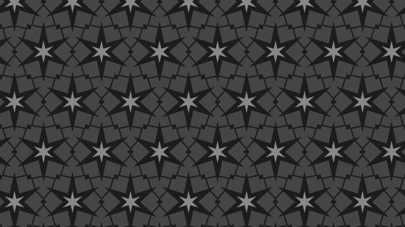 Black Stars Pattern Background