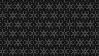 Black Stars Background Pattern
