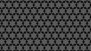 Black Star Pattern Vector