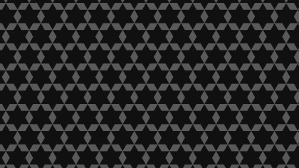 Black Star Pattern Background Vector Art