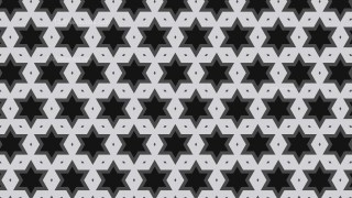 Black and Grey Star Background Pattern Graphic