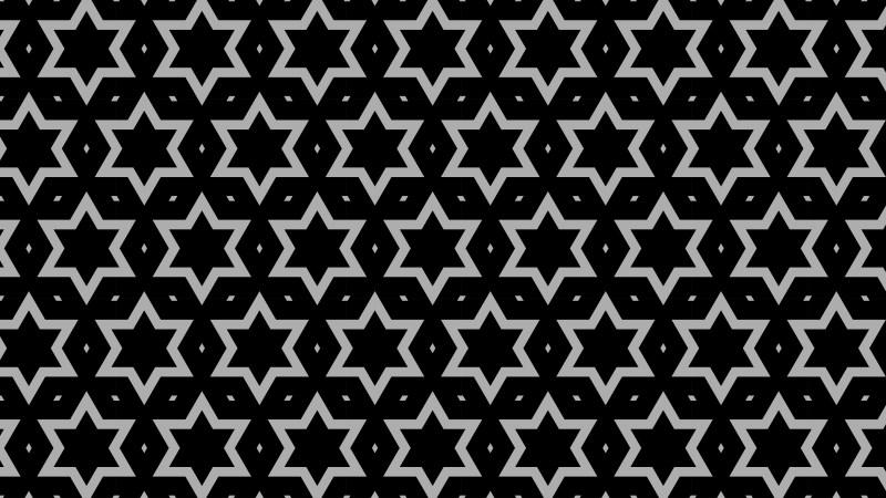 Black Seamless Star Background Pattern Image