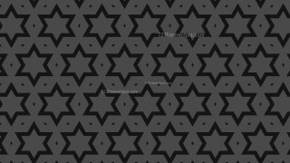 Black Stars Pattern Vector Graphic