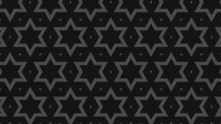 Black Stars Pattern Background Vector Image