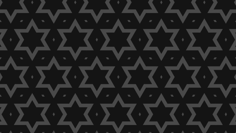 Black Stars Pattern Background Vector Image