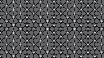 Black and Grey Star Pattern