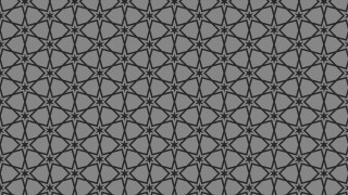 Black and Grey Star Pattern Background