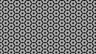 Black and Grey Seamless Star Background Pattern