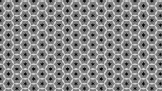 Black and Grey Stars Pattern
