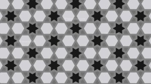 Black and Grey Stars Pattern Vector