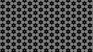 Black Seamless Stars Background Pattern Image