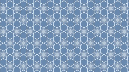 Light Blue Stars Pattern Background