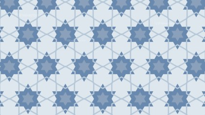 Light Blue Stars Background Pattern