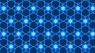 Navy Blue Seamless Stars Background Pattern