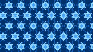 Navy Blue Star Pattern Illustrator