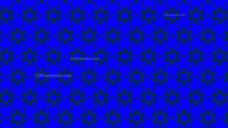 Royal Blue Seamless Star Pattern Background Graphic