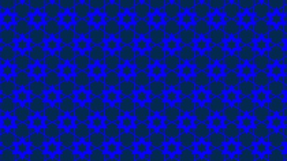 Royal Blue Seamless Star Background Pattern Illustration