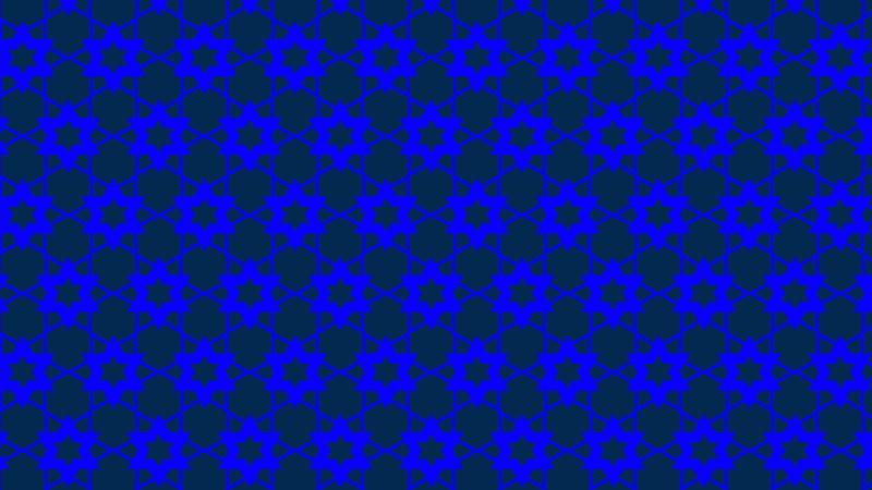 Royal Blue Seamless Star Background Pattern Illustration