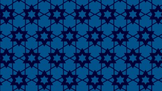 Navy Blue Stars Pattern Design