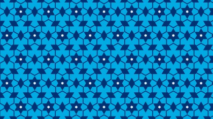 Blue Star Pattern Background