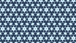 Blue Star Pattern Background Illustration